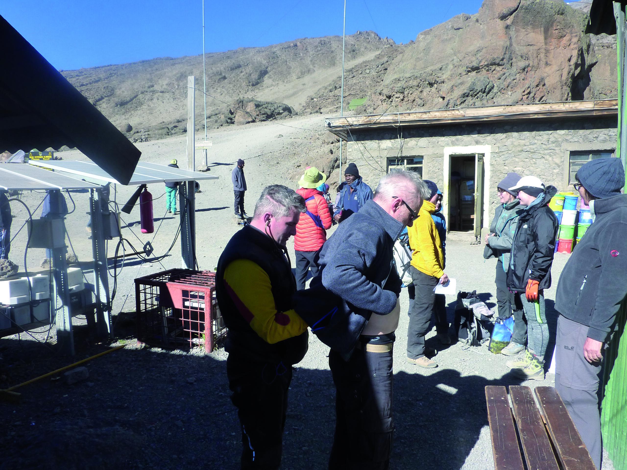 Mit Diabetes auf den Kilimanjaro